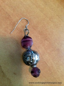 Earring I made, age 12