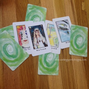 Sacred Spiral oracle cards