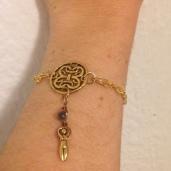 Celtic goddess bracelet
