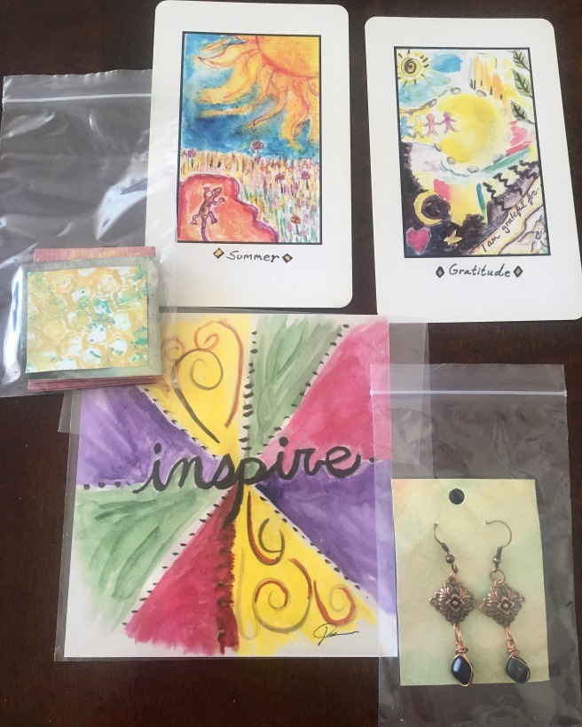 jewelry and art set